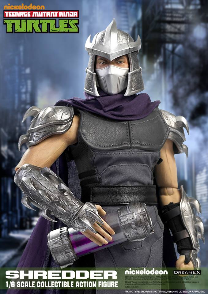 Dreamex 1/6 Scale TMNT, Casey Jones, Krang, & Shredder News