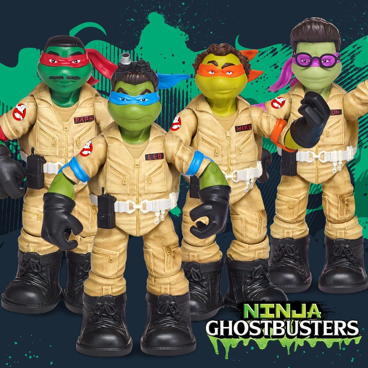 ninja turtles tmnt ghostbusters toys